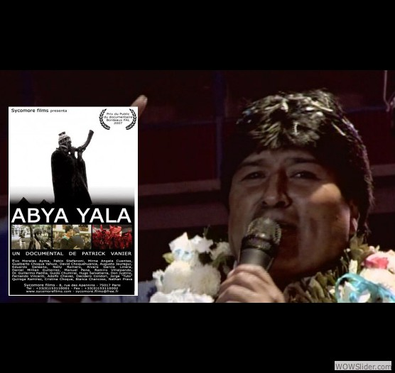 AbyaYala est son premier long métrage documentaire